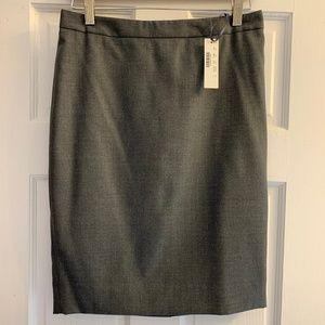 J. Crew No. 2 Pencil skirt in Super 120's wool